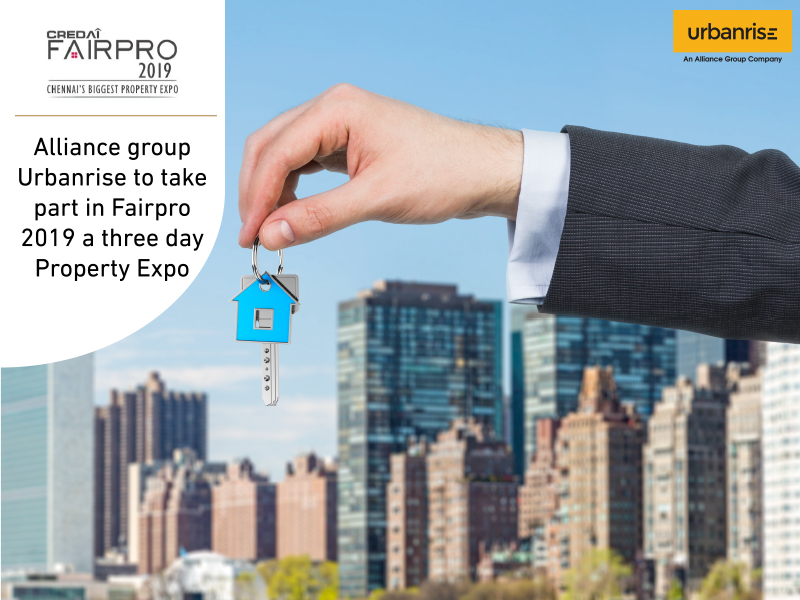 Alliance group urbanrise to take part infairpro 2019 a three day property expo