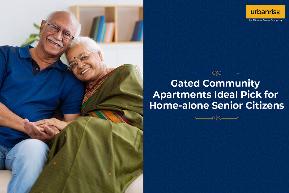 Gated Community Apartments  Ideal Pick for Home-alone Senior Citizens